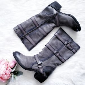 Nurture by Lamaze Ombre Distressed Buckle Boots